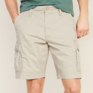 Old Navy Tan Lived-in Straight Cargo Shorts SZ 48